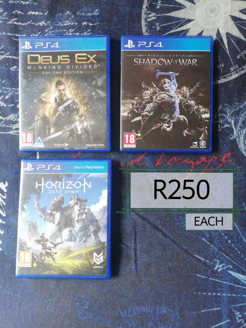 Selling ps4 games 0