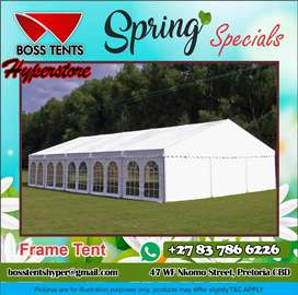 Frame Tents On Sale
