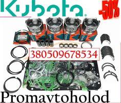 Комплект запчастей Kubota V1505, Carrier Maxima, Bobcat