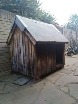 Large Dog Kennel in Excellent Condition