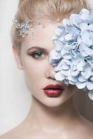 Свадебный образ для фотосессии макияж прическа
