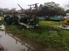 Double axle horse drawn trailors