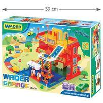 Детская парковка Гараж с дорогой Wader 50400