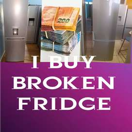 I BUY FRIDGES BROKEN OR NOT