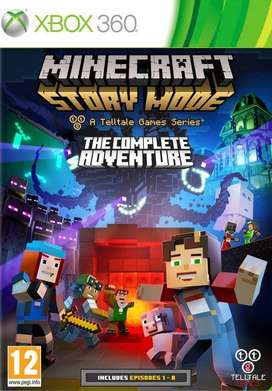 MINECRAFT STORY MODE A TELLTALE GAME SERIES XBOX360