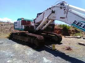 Bell 1430 excavator with hammer
