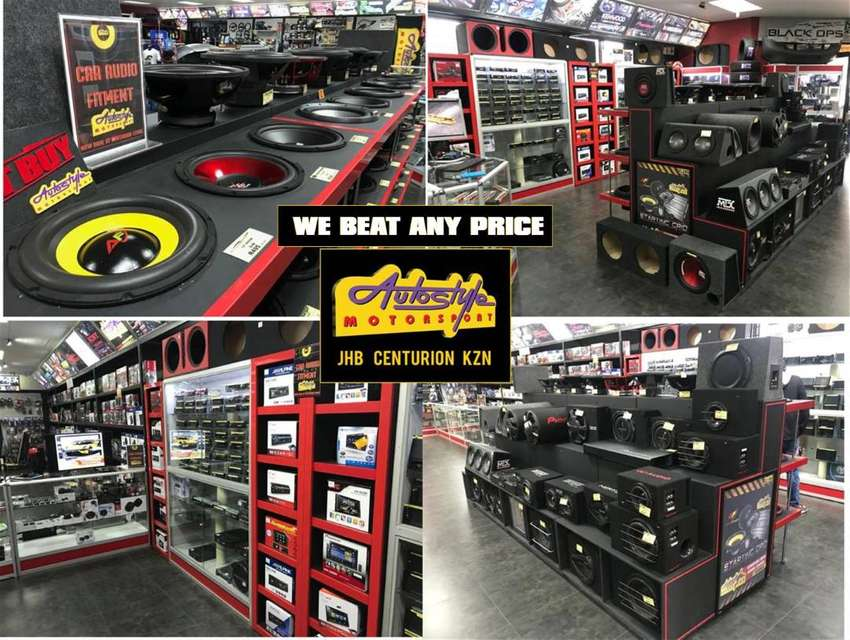 Fitment and supply of Car Audio, tyres, mag wheels, alarm systems, gea 0