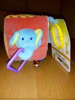 """Игрушка-подвеска Baby Team(Беби Тим)""""Мягкий кубик"""" (8545)"""