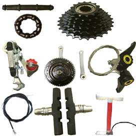 Bicycle Spares, Bicycles, Tricycles, Walking Rings, Feeding Chairs