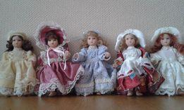 Фарфоровые куклы интерьерные Figurines de Paris