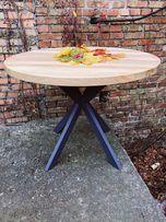 Стол. Обеденный стол. Круглый. Кухонный стол из дерева. Стол дуб,ясень