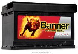 AKUMULATOR 12V 74 Ah Banner Power Bull Romana Maya 1, Obornicka252