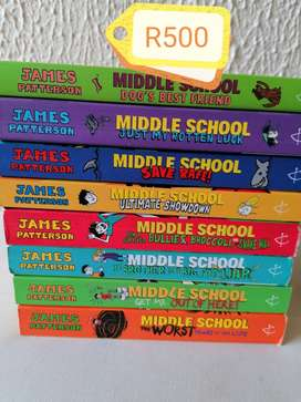 Middle school book collection