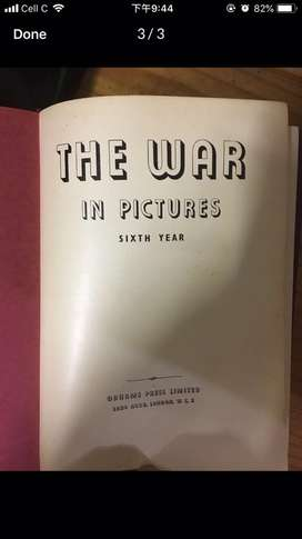 The war of pictures  (publish london)