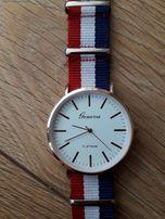 Przepiękny zegarek damski Geneva Platinum