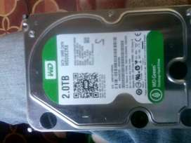 2Tb western digital hard drive