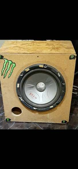 10 Inch Pioneer VCCS subwoofer and box