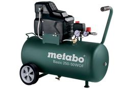 Компресор безмасляний Metabo basic 250-50 w of