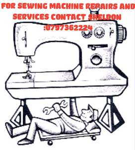 Sewing machine repairs and services