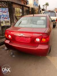 Foreign used Toyota corolla 0