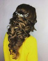Свадебный стилист, визажист, макияж, причёски на выпускной киев