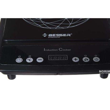 Новая электроплита индукционная 2000 Вт Besser 10213 плита печь плитка Харьков - изображение 6