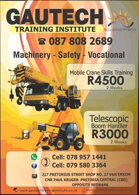 Lifting Machinery Training in Pretoria
