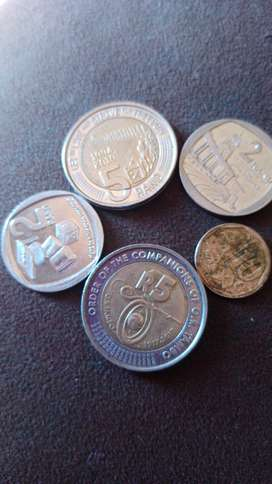I sell five Rands and ten cent