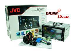 "Автомагнитола JVC KW-V230BT 2 DIN DVD/CD Player 6.2"" новая"