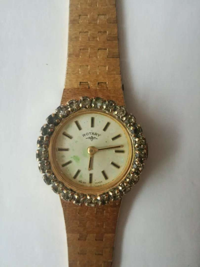 Rotary Gold Plated Ladies Watch (Bargain)
