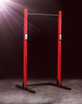 Freestanding heavy-duty squat rack and pull up bar rigs