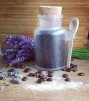 Naturalny peeling kawowy lub/z dodatkiem lawendy 200g handmade