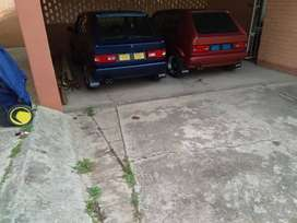 Golf 1.4 caburator and Golf 1.6 fuel injection.