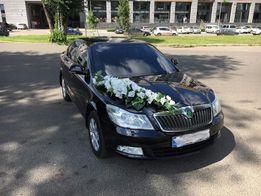 Аренда авто, прокат автомобиля на свадьбу Харьков. Skoda Octavia