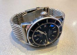 Стальной МИЛАНСКИЙ Браслет ремешок для часов Breitling, Omega на 22 мм