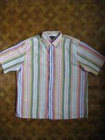 мужская рубашка - 100% лён - Lands end - размер XL - наш 52-54рр.