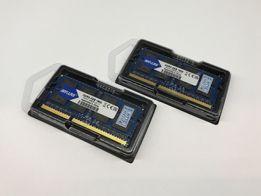 ОЗУ для ноутбука DDR 3 SODIMM 8Gb 1600 Mhz две планки