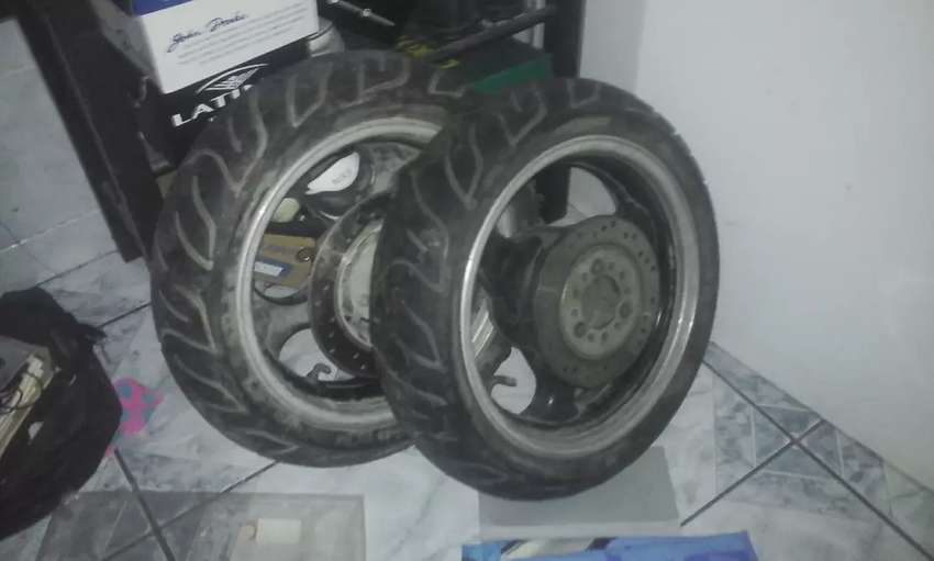 FOR SALE!!! Selling 150cc BigBoy Scooter Tyres & Rims in East London 0
