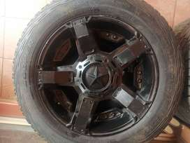 4 x tyres and mags for sale