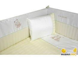 Продам комплект постельного белья в детскую кроватку
