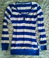 Bluzka, sweterek damski w paski 34/36, XS/S