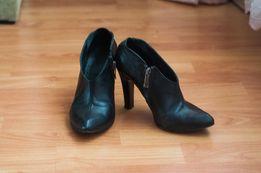 Туфли черные кожа 23,5 см