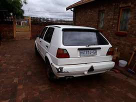 good condition golf 2 start and go   body need attention