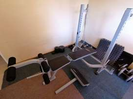 Weight & Bench Combo