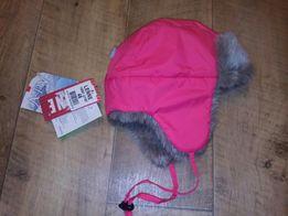 Зимняя шапка-ушанка Lenne (Ленне) Aldo для девочки, 48 р.