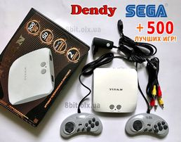 Новый Titan 3 Денди+Сега Dendy SEGA + 500 лучших игр!