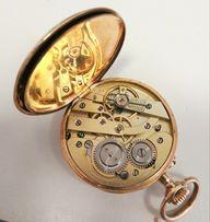 Złoty zegarek kieszonkowy 10 rubis 1849r oryginał