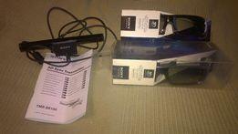 Zestaw 3D Sony, okulary i transmiter, nieużywane!
