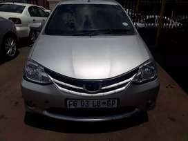 2016 model Toyota Etios 1.5 comfortline in good condition