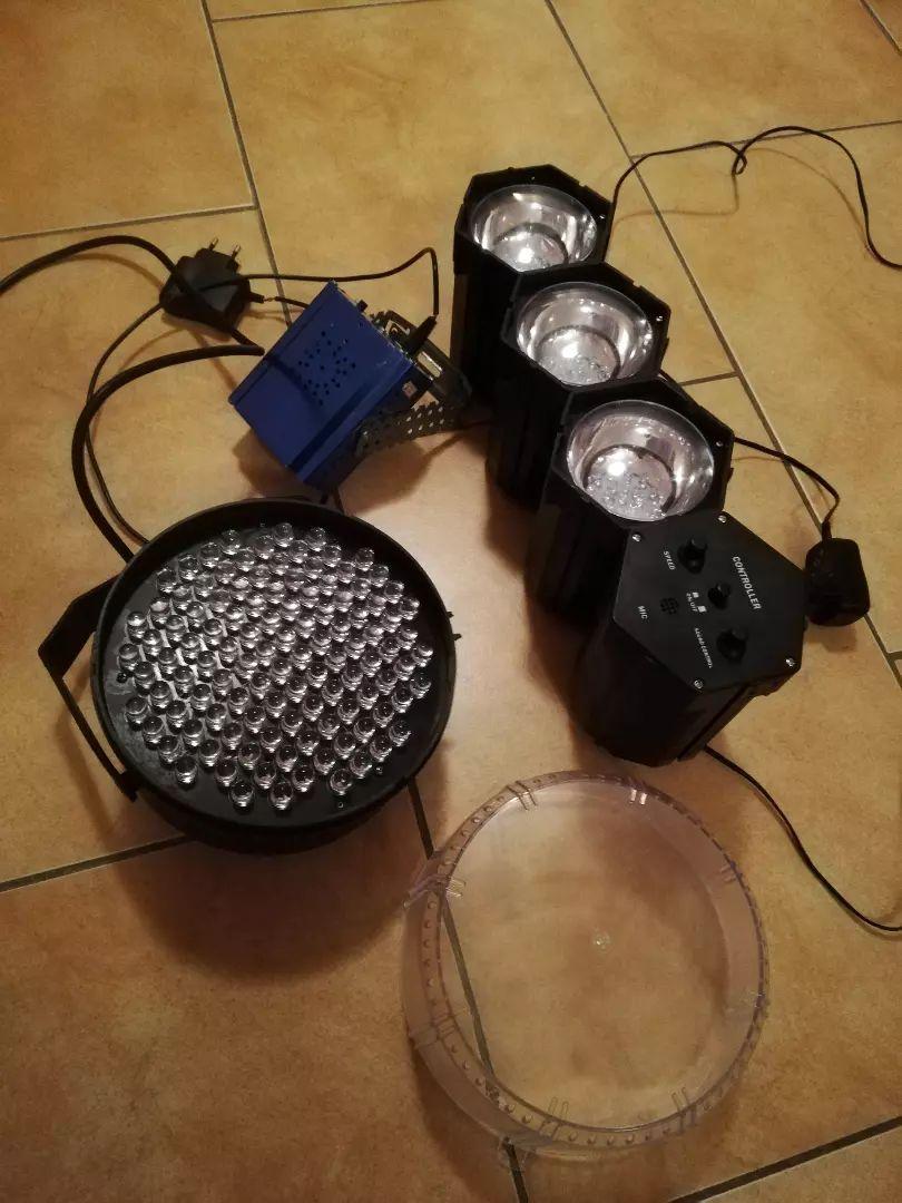 LED svetla + minilaser 0